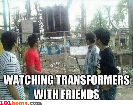 Watching Transformers