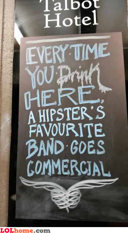 The hipster's band