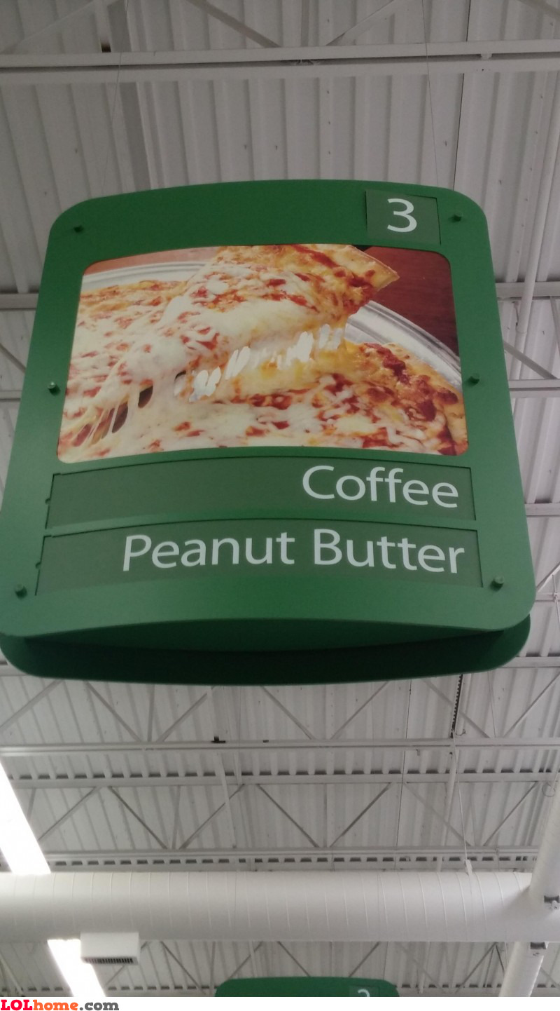Coffee and peanut butter