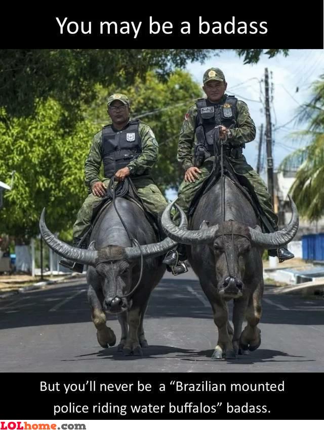Badass police