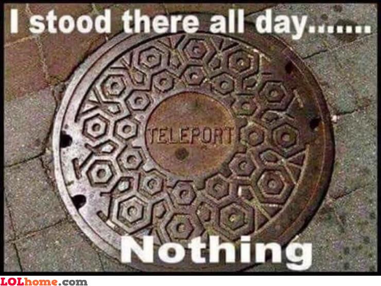 Teleport not working