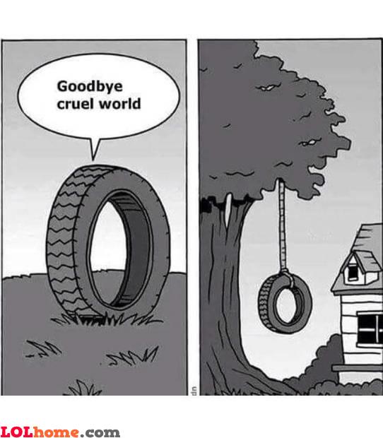 Hanged wheel