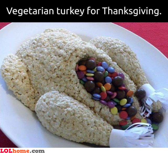 Vegetarian turkey