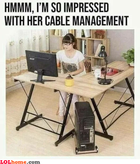 Cable management level 99
