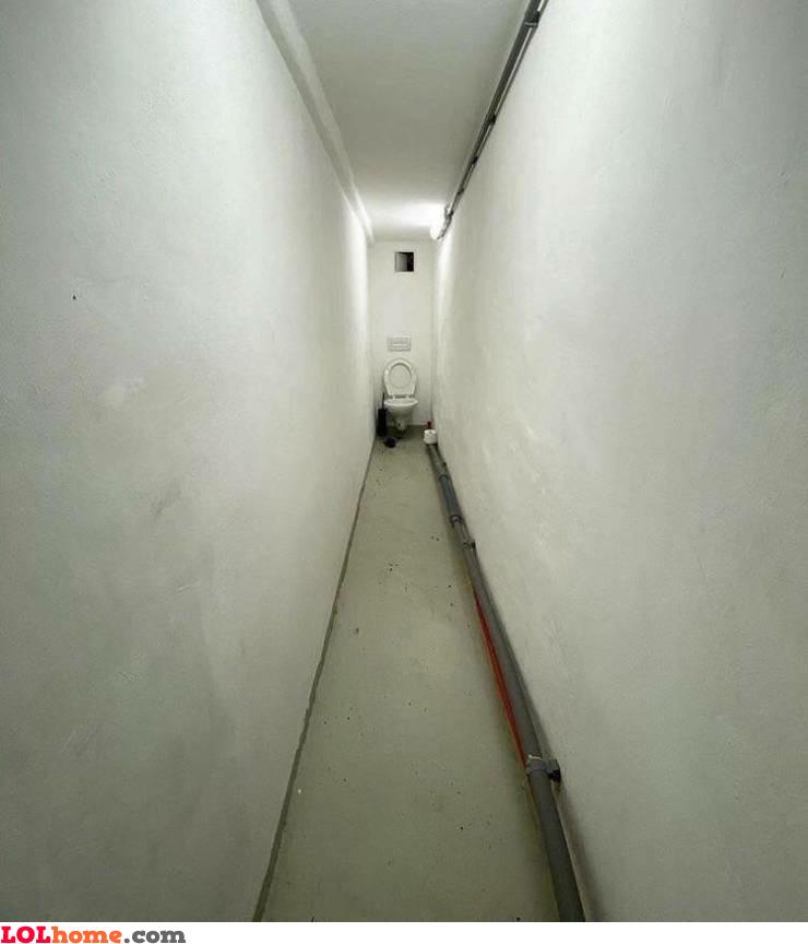 Long toilet
