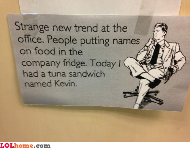 Kevin tuna sandwich