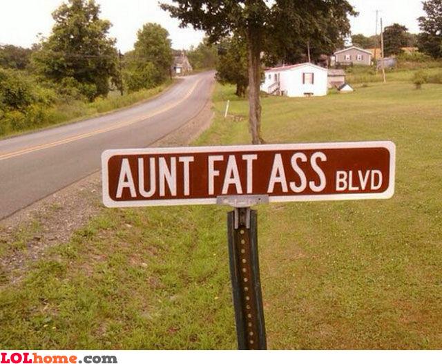 Aunt fat ass