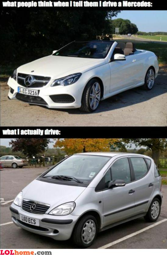 Mercedes owner