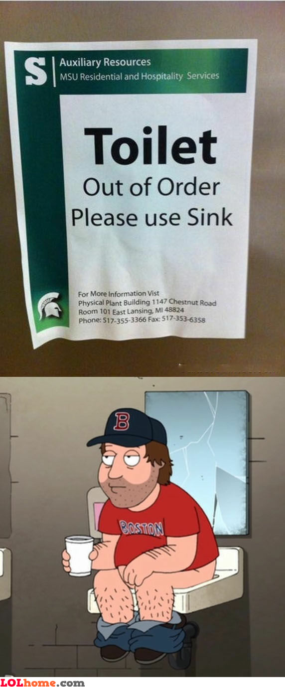 Please use sink