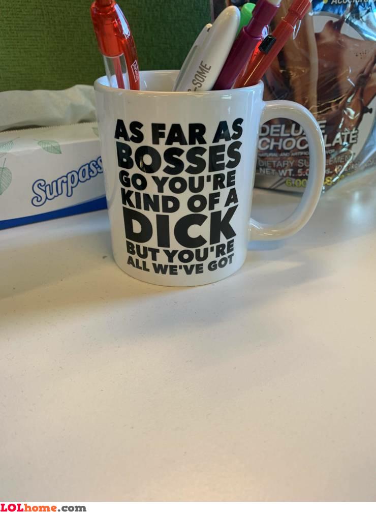 A perfect workplace mug
