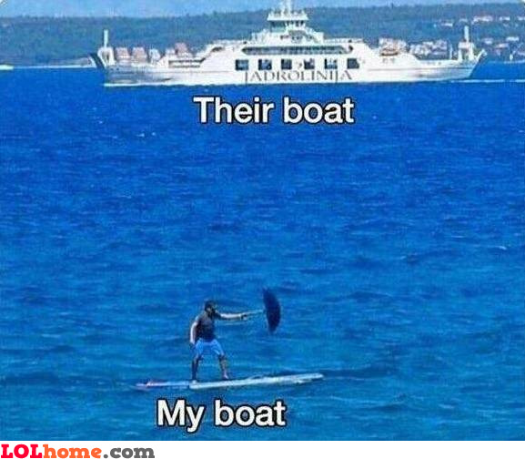 We're in the same boat