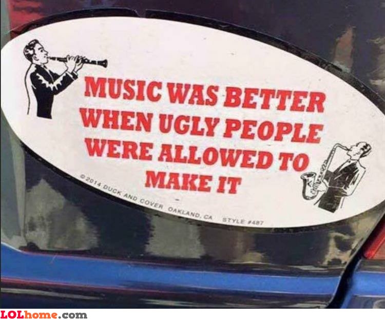 Ugly singers