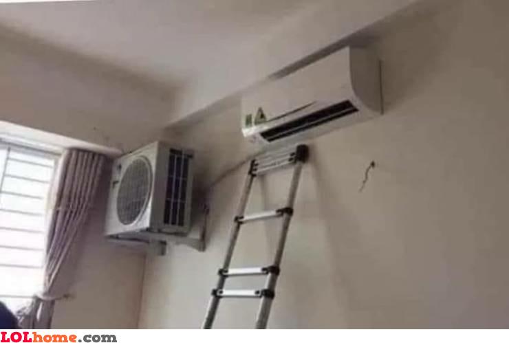 Proper AC installation