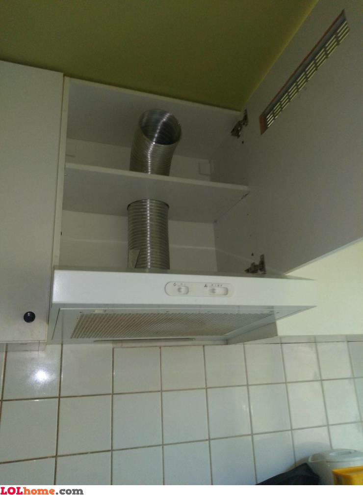 Kitchen hood fail