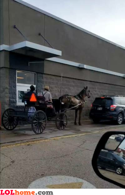 Amish drive-through