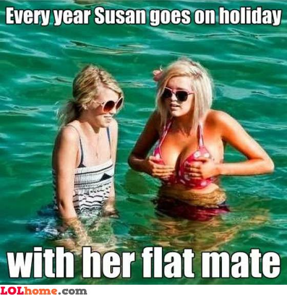 Susan and her flat mate