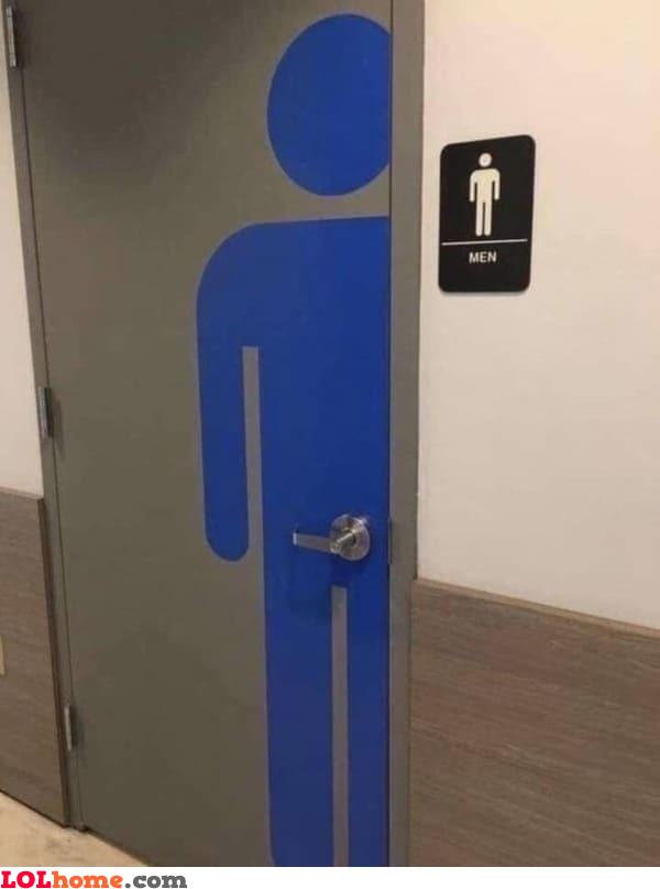 The men's knob