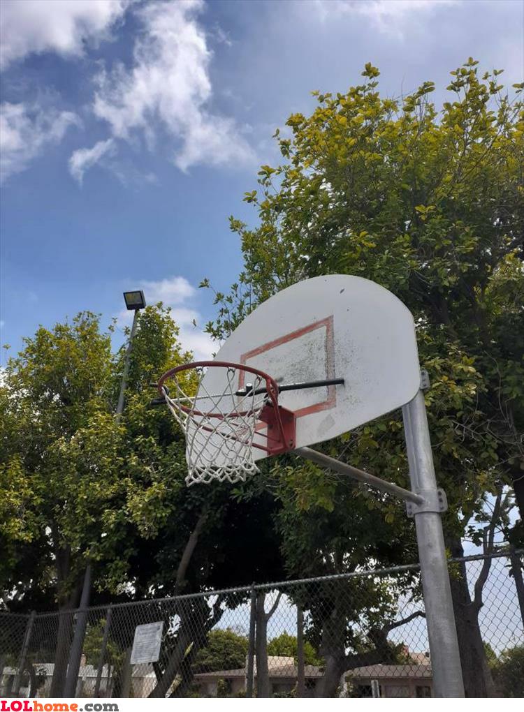 Locked hoop