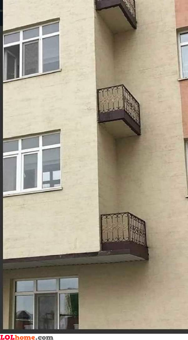 Balcony included