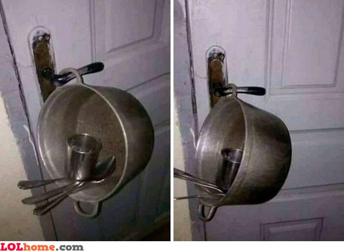 DIY home alarm