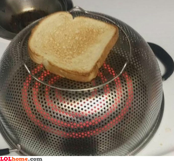 DIY toaster