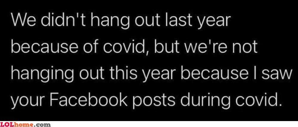 Covid status updates