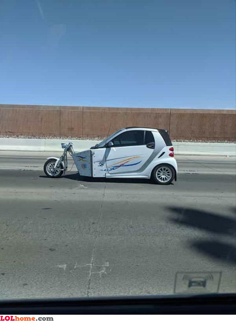 The tri…car?