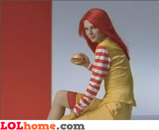 Ronald's girlfriend