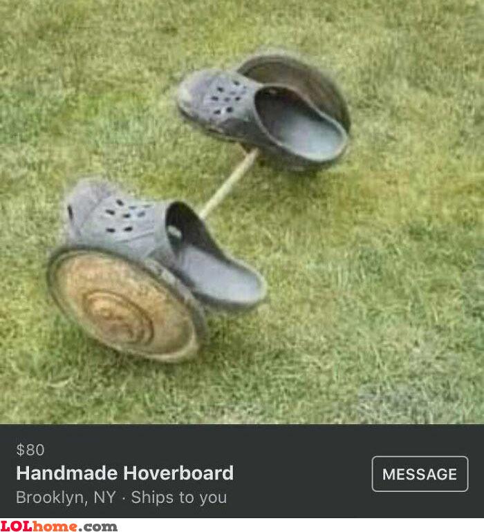Handmade Hoverboard