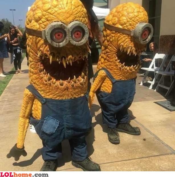 Minions of horror