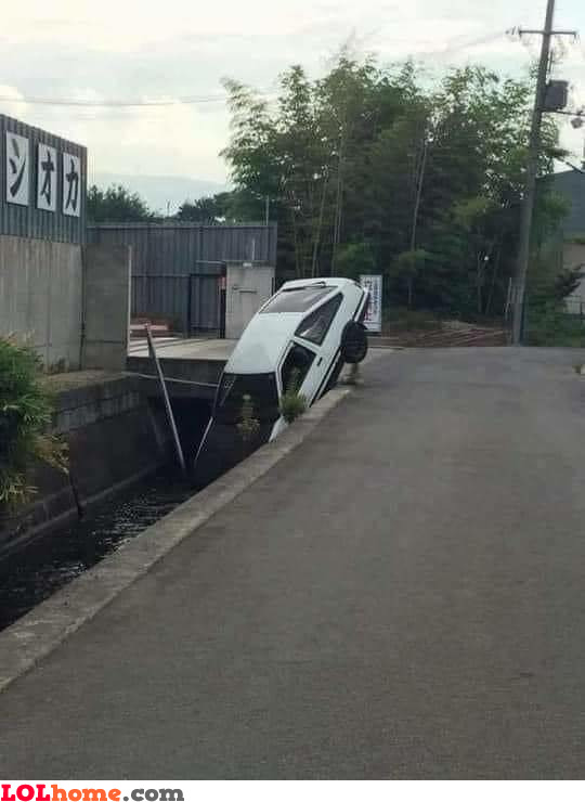 Wife took the car
