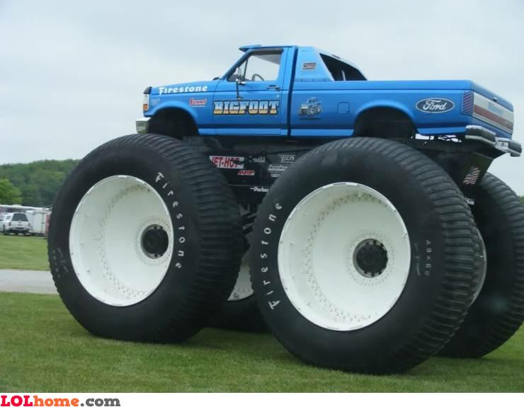 Monsterest truck