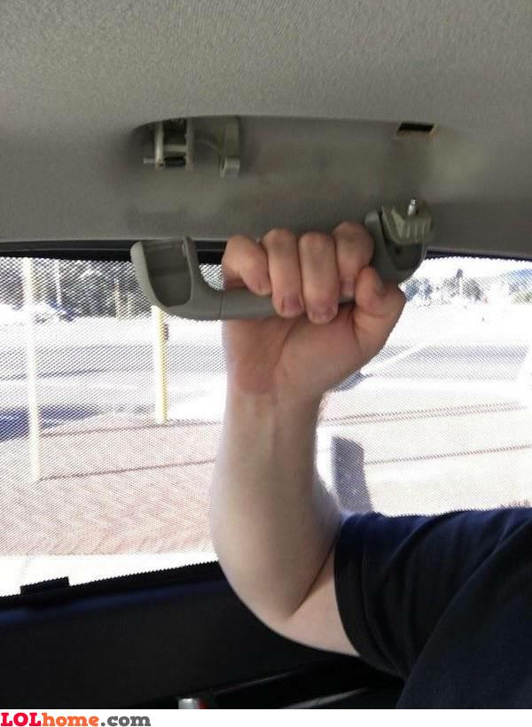 Grab the handle