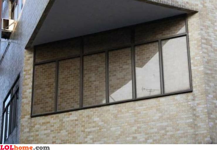 Walled windows