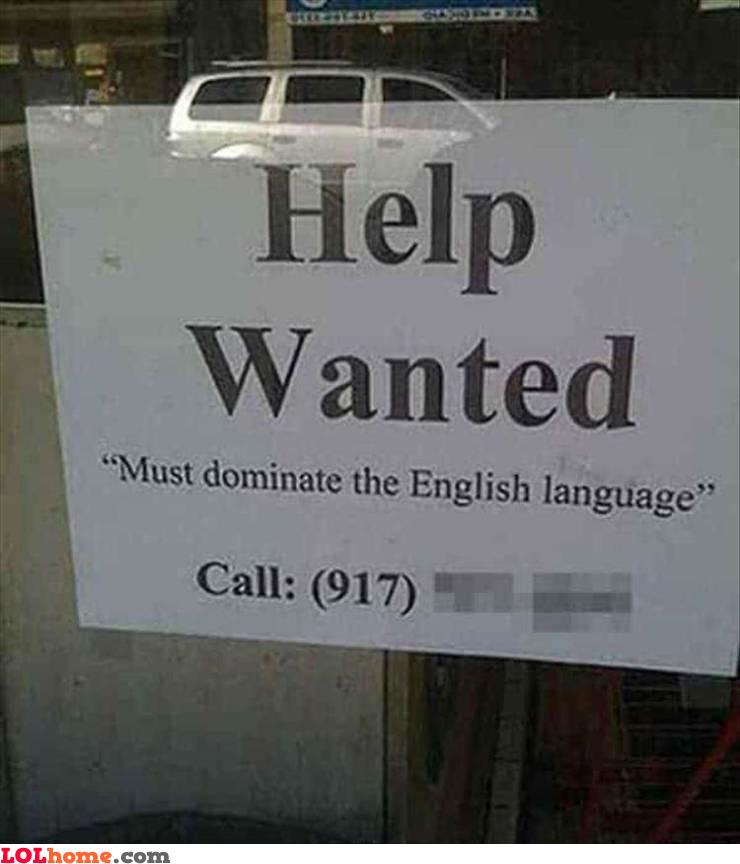 Dominate English