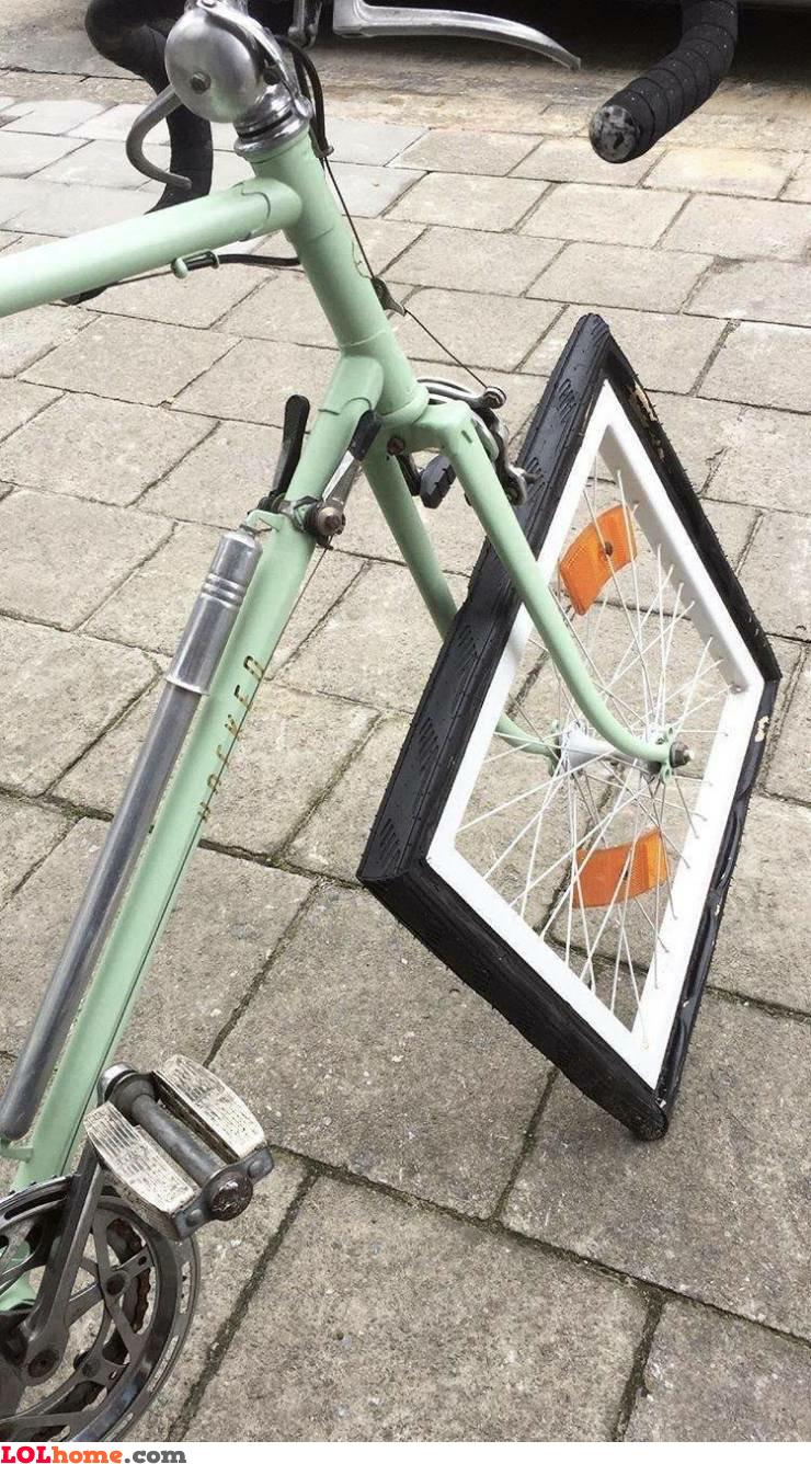 Bumpy bike ride