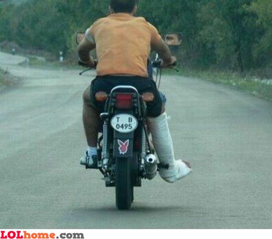 Dangerous ride