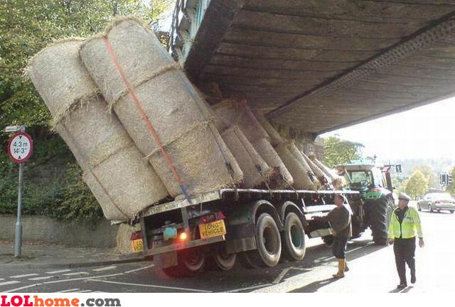 Haystack squeeze