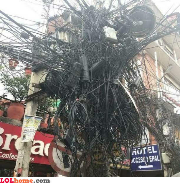 Good wire job