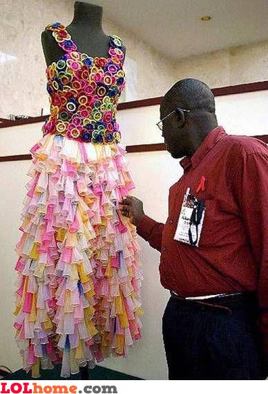 Condom dress