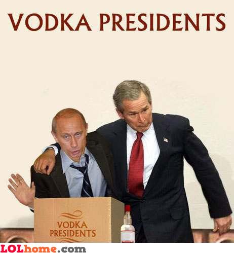 Vodka Presidents
