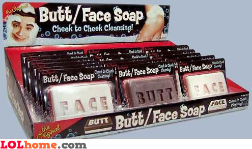 Cheek to cheek cleansing
