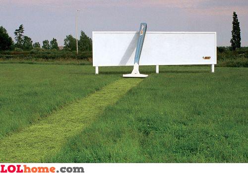 BIC billboard