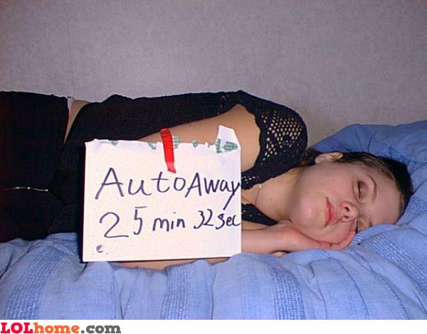 Auto away