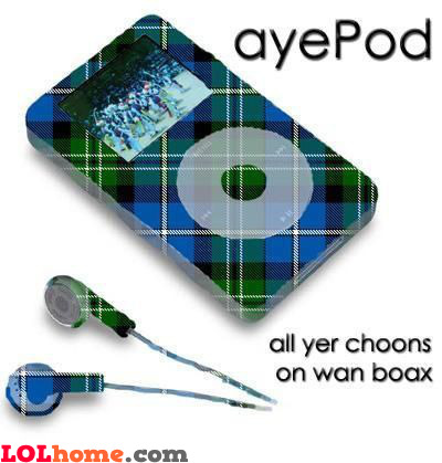 Scottish IPod