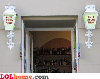 Butt Asian Shop