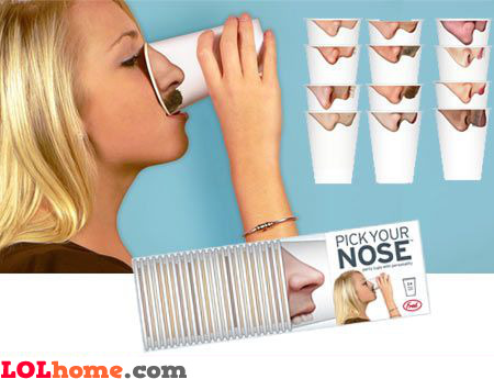 Pick your nose