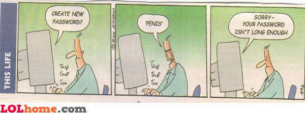 Small password