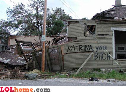 Katrina hate