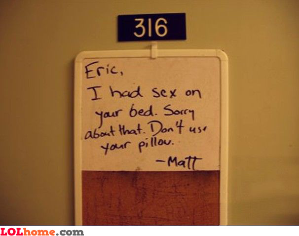 Don't use your pillow